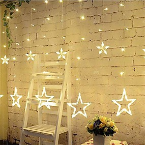 Nice Christmas 2m 5m Led Garland Fairy Bar Lights Silver Copper Wire Indoor Home Decoration Luminous Lighting For New Year Birthday Rich And Magnificent Led Lighting Lights & Lighting