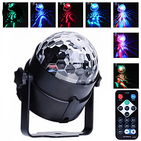 cheap Musical Instruments-U'King LED Stage Light / Spot Light Sound-Activated / Auto / Remote Control for Outdoor / Party / Stage Professional