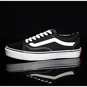459ebfb1ae Women's Sneakers Flat Heel Canvas Comfort Spring / Fall Black / EU39