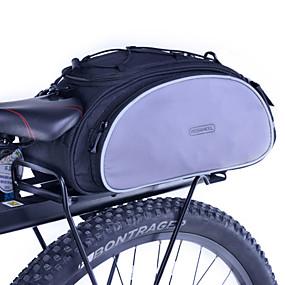 cheap Bike Trunk Bags-Rosewheel 13 L Bike Rack Bag Waterproof, Reflective, Water Bottle Pocket Bike Bag Polyester Bicycle Bag Cycle Bag Cycling / Bike