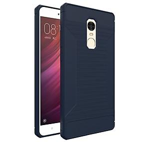 levne Pouzdra telefonu-Carcasă Pro Xiaomi Redmi Note 4 Matné Zadní kryt Jednobarevné Měkké TPU pro Xiaomi Redmi Note 4