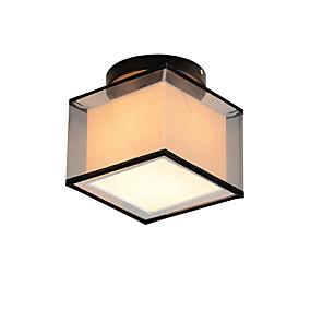 tanie Mocowanie przysufitowe-kwadratowa, nowoczesna prosta lampa sufitowa, do montażu podtynkowego, wejście do przedpokoju