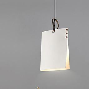 abordables Plafonniers-Lampe suspendue Lumière d'ambiance Métal 110-120V / 220-240V Ampoule non incluse