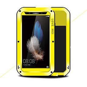 levne Pouzdra telefonu-Carcasă Pro Huawei Enjoy 5S Nárazuvzdorné / Voda / Dirt / Otřesuvzdorný Celý kryt Pevná barva Pevné Kov pro Huawei Enjoy 5S