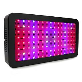 abordables Lampe de croissance LED-1 set 240 W 120 Perles LED Spectre complet Lampes Panneau Rouge 85-265 V