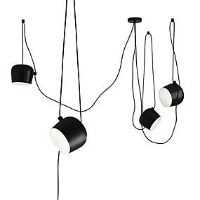 ieftine Cumpără după Cameră-4-Light grup Lumini pandantiv Lumini Ambientale Pictate finisaje Metal Stil Minimalist 110-120V / 220-240V Becul nu este inclus / E26 / E27