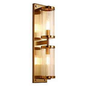 cheap Wall Lights-QIHengZhaoMing Crystal / Eye Protection Modern Contemporary Wall Lamps & Sconces Living Room / Study Room / Office Metal Wall Light 110-120V / 220-240V 5 W / E26 / E27