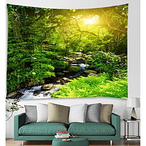 hesapli Duvar Halıları-Mimari Duvar Dekoru Polyester Vintage Duvar Sanatı, Duvar Halılar Dekorasyon