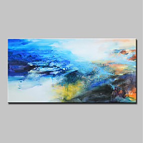 cheap Others-Mintura® Hand Painted Modern Abstract Oil Paintings On Canvas Wall Art Pictures For Home Decoration Ready To Hang