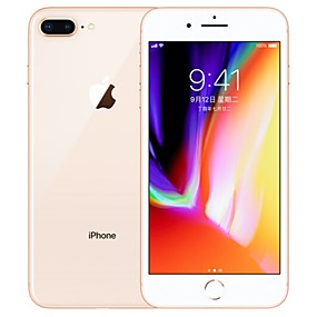 cheap Brand Salon-Apple iPhone 8 Plus A1864 5.5 inch 64GB 4G Smartphone - Refurbished(Gold) / 1920*1080 / 12
