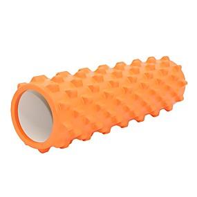voordelige Pilates-Foamroller Hoge dichtheid Non Toxic Extra stevig Fysiotherapie Pijnstilling Spiermassage diep weefsel Yoga Pilates Training&Fitness Voor Gym