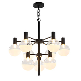 cheap Home Improvement-LWD Sputnik / Cylinder Chandelier Ambient Light Painted Finishes Metal Glass Creative, New Design 90-240V Bulb Not Included / G9