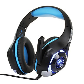 voordelige Gaming-KOTION EACH GM-1 Gaming Headset Bekabeld Gaming met microfoon