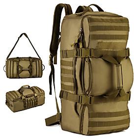 b82709a203 Ruksaci Ruksak Vojni taktički ruksak 60 L - Otporno na kišu Podesan za  nošenje Vanjski Kampiranje Vojni Putovanje Najlon Braon Siva Kamuflirati