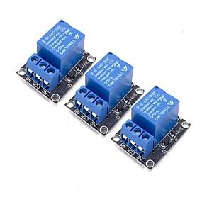 זול חיישנים-3pcs 5v מודול ממסר עבור arduino זרוע pic avr mcu 5v מחוון אור הוביל 1 ערוץ ממסר