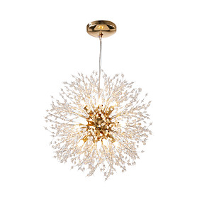 povoljno Poboljšanje uvjeta stanovanja-OBSESS® Mini Lusteri Ambient Light Metal Crystal, Mini Style 110-120V / 220-240V Uključen je LED izvor svjetlosti / G9 / FCC