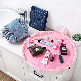 povoljno Oprema za kupaonice-animal flamingo kozmetička torba profesionalna drawstring šminka slučaj žene putovanje make up organizator skladištenje vrećica toaletni WC pranje