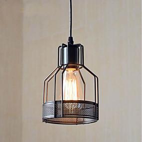 abordables Plafonniers-CXYlight Lampe suspendue Lumière dirigée vers le bas Finitions Peintes Métal Style mini 110-120V / 220-240V Ampoule non incluse / E26 / E27
