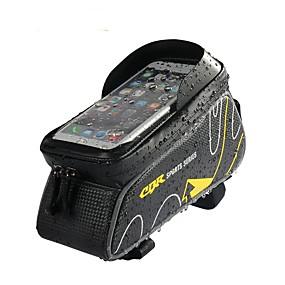 cheap Bike Frame Bags-Cell Phone Bag Bike Frame Bag Top Tube 6 inch Waterproof Cycling for iPhone 8 Plus / 7 Plus / 6S Plus / 6 Plus Red Dark Gray Ginger Bike / Cycling
