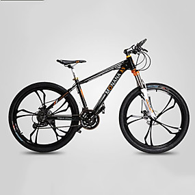 povoljno Rasprodaja-Mountain Bike Biciklizam 27 Brzina 26 inča / 700CC Shimano M370 Disk kočnica Vilica s oprugom Monocoque Običan Aluminijska legura / #