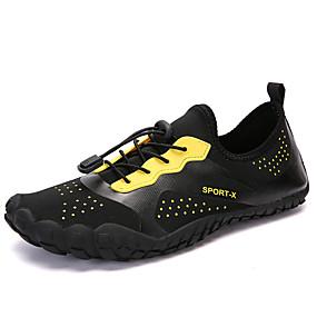 baratos Sapatos Esportivos Masculinos-Homens Sapatos Confortáveis Poliester Primavera Verão / Outono & inverno Tênis Água / Tênis Anfíbio Não escorregar Verde / Vermelho Escuro / Preto / Amarelo