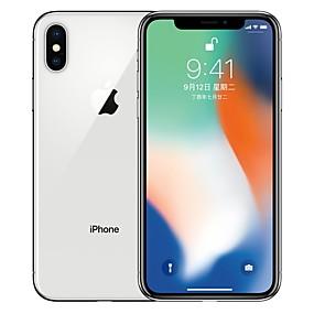 voordelige Apple-Apple iPhone X A1865 5.8 inch(es) 64GB 4G-smartphone - gerenoveerd(Zilver)