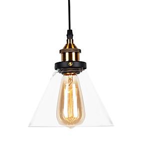 abordables Plafonniers-Mini Lampe suspendue Lumière d'ambiance Finitions Peintes Métal Verre Style mini 110-120V / 220-240V