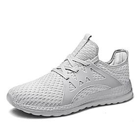 bfa5f7b6a42 Γυναικεία Παπούτσια άνεσης Δίχτυ Φθινόπωρο Καθημερινό Αθλητικά Παπούτσια  Τρέξιμο Επίπεδο Τακούνι Μαύρο / Γκρίζο / Σκούρο γκρι