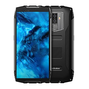 "abordables Blackview-Blackview BV6800 Pro 5.7 pulgada "" Smartphone 4G (4GB + 64GB 16 mp MediaTek MT6750T 6580 mAh mAh)"