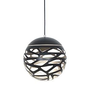abordables Plafonniers-UMEI™ Globe / Géométrique / Nouveauté Lampe suspendue Lumière dirigée vers le bas Finitions Peintes Métal Acrylique Créatif, Ajustable, LED 110-120V / 220-240V Blanc Crème / Blanc Source lumineuse de