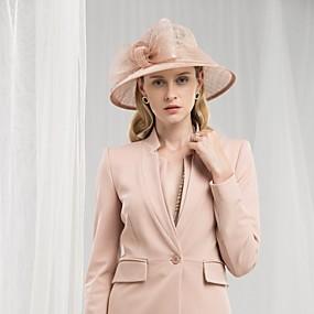 povoljno Kentucky Derby Hat-100% posteljine kape s Mašnica 1pc Vjenčanje / Zabava / večer Glava