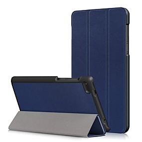 povoljno Drugi slučaj-Θήκη Za Lenovo Tab 7 Essential / Lenovo Tab 4 7 Essential Protiv prašine / Zaokret / Auto Sleep / Wake Up Korice Jednobojni Tvrdo PU koža za Lenovo Tab 7 Essential / Lenovo Tab 4 7 Essential