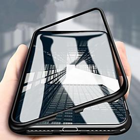 voordelige Mobiele telefoonhoesjes-hoesje Voor Huawei P20 / P20 Pro Schokbestendig Achterkant Effen Hard Gehard glas voor Huawei P20 / Huawei P20 Pro / Huawei P20 lite