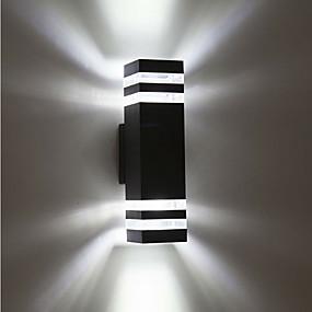 Недорогие Прожекторы-1шт 8 W LED прожекторы Водонепроницаемый Тёплый белый / Холодный белый 85-265 V Уличное освещение / двор / Сад 8 Светодиодные бусины