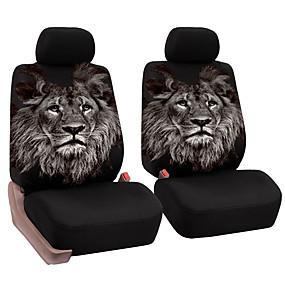 povoljno 70%OFF-univerzalni auto prednje sjedalo puni paket jastuk jedinstveni lav uzorak prozračna sjedala pokriti jastučić
