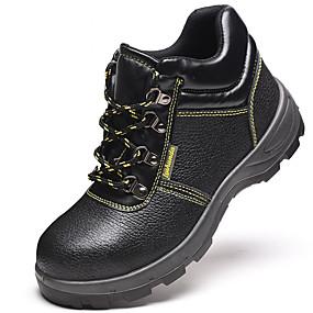 お買い得  護身用グッズ-職場の安全用品通気性の洪水防止アンチピアス用安全靴ブーツ