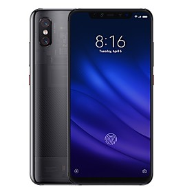 "cheap Smartphones-Xiaomi MI8 pro Global Version 6.21 inch "" 4G Smartphone (8GB + 128GB 12+12 mp Snapdragon 845 3000 mAh mAh) / Dual Camera"