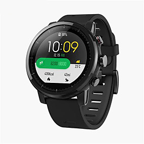 """cheap Valentine's Day-Xiaomi Huami Amazfit 2 Smartwatch GPS Heart Rate Monitor 512MB/4GB Waterproof 1.34"""" 2.5D Screen Sports Watch Global Version"""