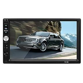 ieftine Oferte Speciale-swm 7012 7 inch 2 din os mașină mp5 player touch screen / mp3 / built-in bluetooth pentru suport rca / tv out / bluetooth suport mpeg / avi / mpg wma / ogg / flap jpeg / png / jpg