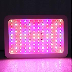 お買い得  LEDグローライト-1セット 1200 W 6130 lm 120 LEDビーズ フルスペクトル 成長する照明器具 温白色 ホワイト レッド 85-265 V コマーシャル ホーム/オフィス