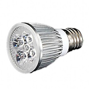 billige LED Økende Lamper-1pc 5 W Voksende lyspære 300-350lm GU10 GU5.3 E26 / E27 5 LED perler Høyeffekts-LED Hvit Rød Blå 85-265 V / 1 stk. / RoHs