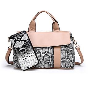Női Táskák PU táska szettek 2 db erszényes készlet Cipzár Színes Fekete    Rubin   Khakizöld ca9e5054f5