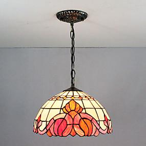 billige Hengelamper-Anheng Lys Omgivelseslys Malte Finishes Glass Glass Flerskjerms, Kreativ 110-120V / 220-240V