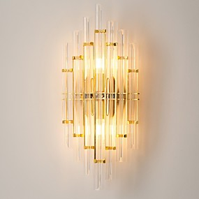 billige Krystall Vegglys-Kul Moderne Moderne Vegglamper Soverom Krystall Vegglampe 220-240V 40 W