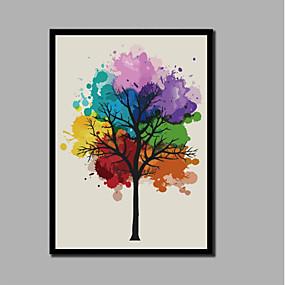 povoljno Trends-Print Stretched Canvas Prints - Božić Moderna Comtemporary Moderna