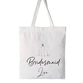 billige Praktiske gaver-Bryllupsfest / Corporate klær Bomull Favoritt Vesker Bryllup - 1 pcs