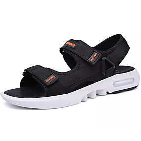 9d903b146 Men s Comfort Shoes Denim Summer Sandals Black   Gray   Blue