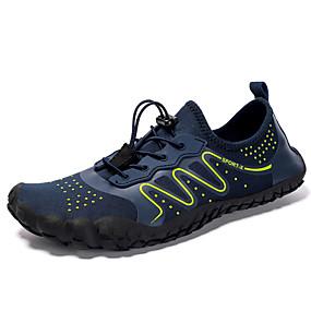 baratos Sapatos Esportivos Masculinos-Homens Sapatos Confortáveis Tecido elástico Verão / Primavera Verão Esportivo Tênis Água / Tênis Anfíbio Respirável Laranja / Verde e Azul / Preto / Amarelo