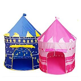 رخيصةأون شبكات البعوض-لعبة الخيام المحمولة للأطفال طفلة الصبي في الأماكن المغلقة القلعة الأميرة القلعة