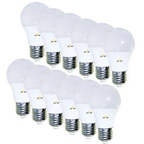 billige Globepærer med LED-EXUP® 12pcs 5 W 450 lm E26 / E27 LED-globepærer 15 LED perler SMD 2835 Kreativ / Bedårende 85-265 V